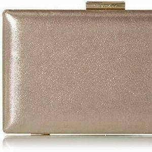 Calvin Klein Small Evening Clutch Mica Gold